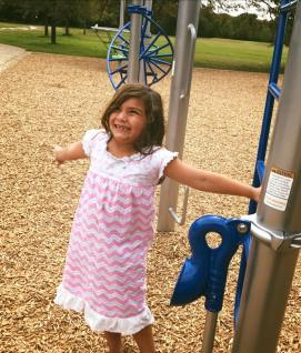 Lylah enjoying the park