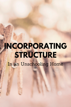 Incorporating structure (1)
